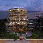 Le 5 stelle dell'Hotel Tritone, rifugio di eleganza e benessere: un'intervista al Direttore