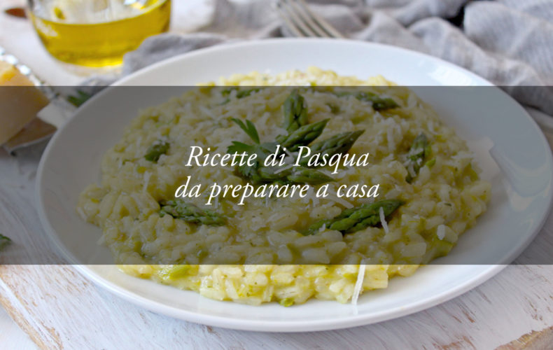 menu di pasqua a casa: il risotto agli asparagi