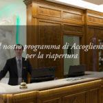 """Il """"Protocollo Accoglienza Sicura"""" all'Hotel Tritone di Abano Terme"""