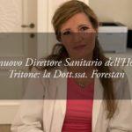 La Dottoressa Francesca Forestan è il nuovo Direttore Sanitario dell'Hotel Tritone