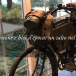 Le bici d'epoca esposte nell'Hotel Tritone e l'ingegno del passato