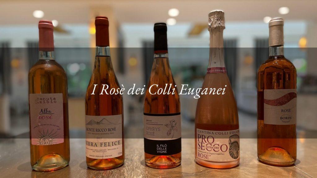 Vini rosati dei Colli Euganei: etichette pregiate da degustare all'Hotel Tritone